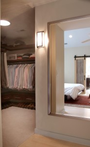 Closet after renovation